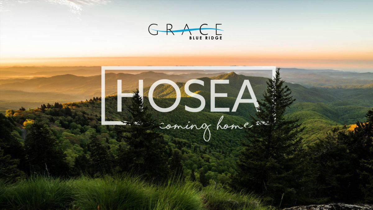 "New Sermon Series: Hosea ""Coming Home"""